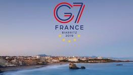 G7 Leaders' Summit (August 24 to 26, 2019 in Biarritz, France)